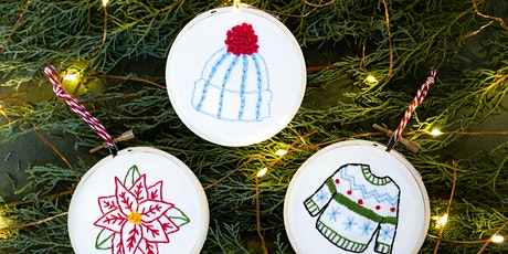 Embroidered Ornaments WebJam tickets