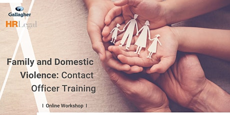 Family and Domestic Violence: Contact Officer Training tickets