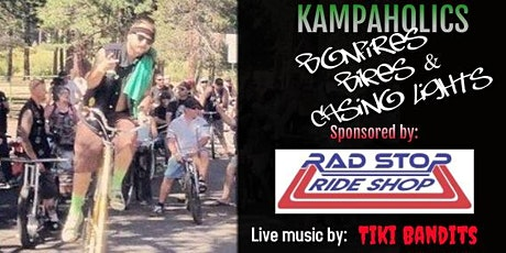 "KampAholics ""Bonfires, Bikes, & Casino Lights"" tickets"