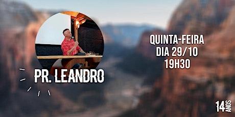 Culto 5ª Feira 29/10/2020 - Bola de Neve São Bento do Sul | 19h:30min. ingressos