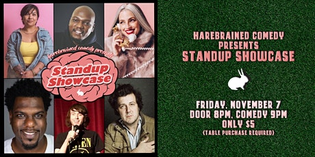 Harebrained Comedy presents Standup Showcase (11/7) tickets