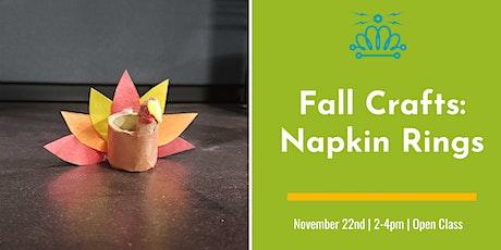 Sunday Funday: Festive Napkin Rings tickets
