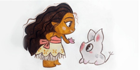 Learn to Draw Moana & Pua @1PM In-Person at Young Art Valley Fair tickets