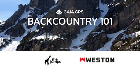 SheJumps Backcountry 101 tickets