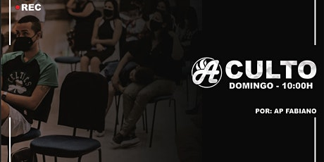 CULTO DOMINGO MANHÃ ingressos