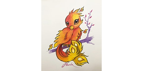 Learn to Draw a Phoenix @3PM In-Person at Young Art Valley Fair tickets