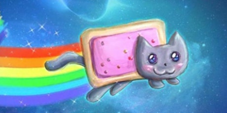Learn to Draw a Poptart Kitty @11AM In-Person at Young Art Valley Fair tickets