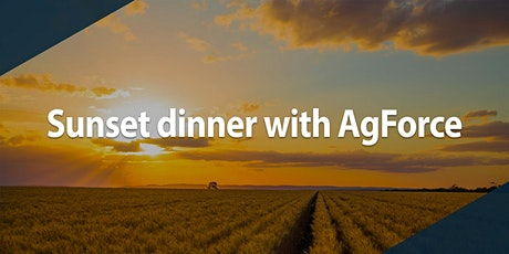 Sunset dinner with AgForce