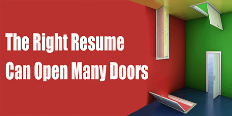 Build Confidence  & Write  Your  CAREER-FOCUSED RESUME tickets