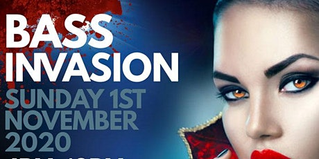BASS INVASION | DRUM & BASS - JUNGLE - DUB | HALLOWEEN BRUNCH & DAY'RAVE | tickets