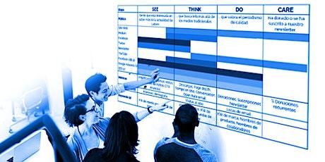 Esquema SEE-THINK-DO-CARE para marketing digital entradas