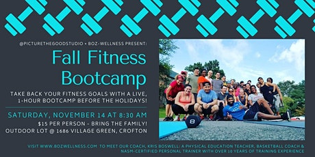 Fall Fitness Bootcamp tickets
