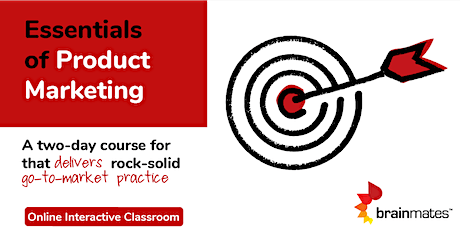 Brainmates Essentials of Product Marketing - Online tickets