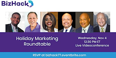 Holiday Marketing Roundtable tickets