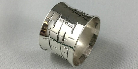 Texture Sterling Silver Ring tickets