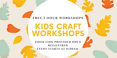 Kids Crafting Workshop tickets