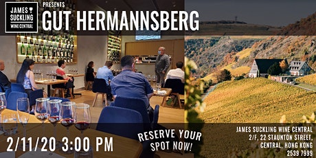 Dry Riesling Masterclass - Gut Hermannsberg (7 wines to taste!) tickets