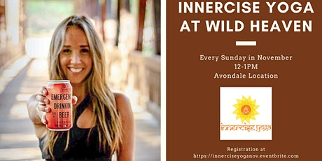 Innercise Yoga at Wild Heaven - November tickets