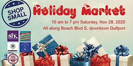 Shop Small Holiday Market tickets