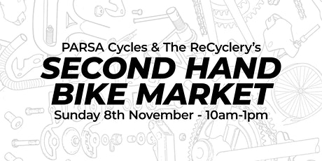 PARSA Cycles & The ReCyclery's Second Hand Bike Market tickets