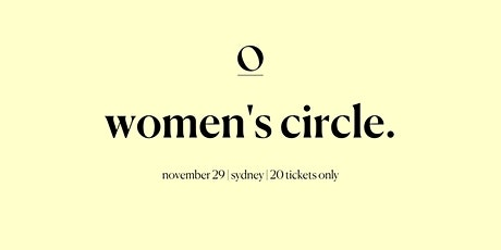 Offline Women's Circle | SYDNEY tickets