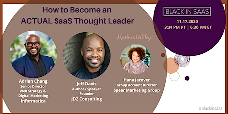 How to Become an ACTUAL SaaS Thought Leader tickets