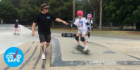Beginner Skateboarding Lessons - Redfern Oval tickets