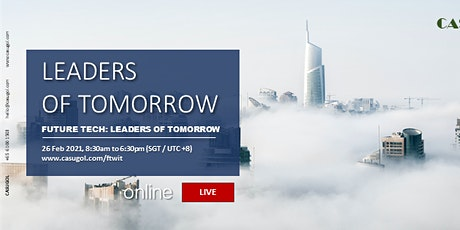 Future Tech: Leaders of Tomorrow 2021