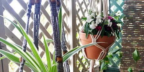 Macrame Pot Plant Hanger Workshop tickets