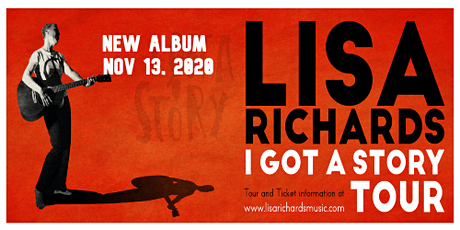 "Lisa Richards ""I Got A Story Tour"" presented by Uralla Arts tickets"
