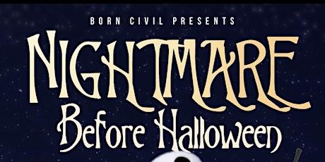 THE NIGHTMARE BEFORE HALLOWEEN @ TRAFFIK tickets