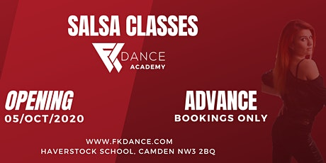 Salsa Classes in London (F K Dance Academy) tickets