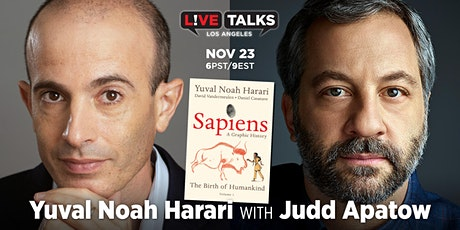 Yuval Noah Harari in conversation with Judd Apatow tickets
