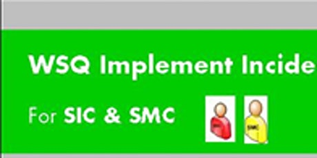 WSQ Implement Incident Management Processes Run 181 (Online) tickets