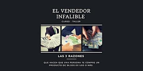 Curso-Taller EL VENDEDOR INFALIBLE boletos
