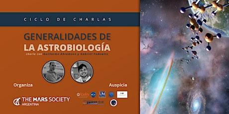 Generalidades de la astrobiología entradas