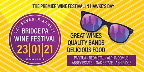 Bridge Pa Wine Festival 2021 tickets