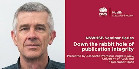NSWHSB Seminar Series - Associate Professor Andrew Grey tickets