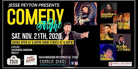 Comedy Night With Jesse Peyton & Friends tickets