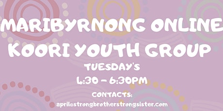 MARIBYRNONG KOORI YOUTH GROUP tickets