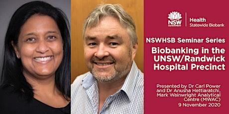 NSWHSB Seminar Series - Dr Anusha Hettiaratchi and Dr Carl Power tickets