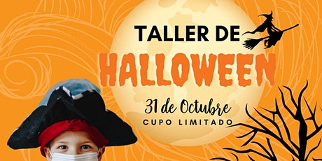 Taller Halloween boletos