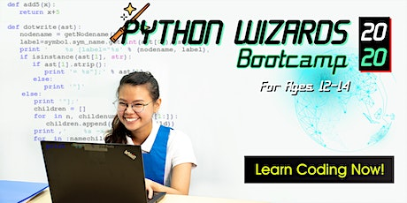 2Day Python Wizard Coding Bootcamp For Ages 12-14 | 930-630pm| 7&8 Dec tickets