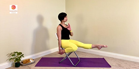 Friday Afternoon (30/10) Home ZOOM Yoga - with Rita Madou, Samagra Yoga tickets