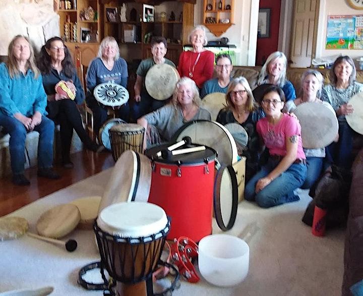 Women Wellness Drumming image