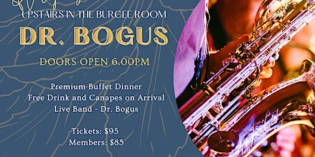 TCYC New Year's Eve Party - Upstairs in the Burgee Room - Dr Bogus tickets