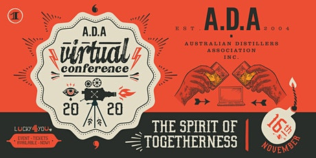 ADA Virtual Conference 2020 'The Spirit of Togetherness' tickets