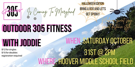 Outdoor 305 Fitness w/Joddie in MD tickets
