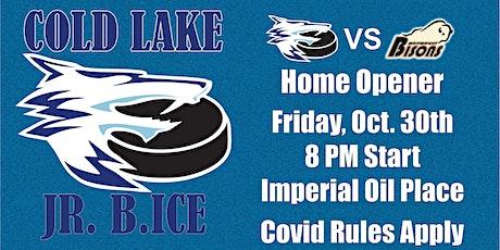 Cold Lake Jr. B Ice VS. Wainwright Bisons Friday O tickets