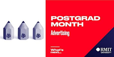 RMIT Postgrad Month: What's Next in Advertising tickets